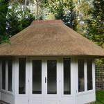 kosten rieten dak_Nieuw rieten dak - Tuinhuisje Ermelo
