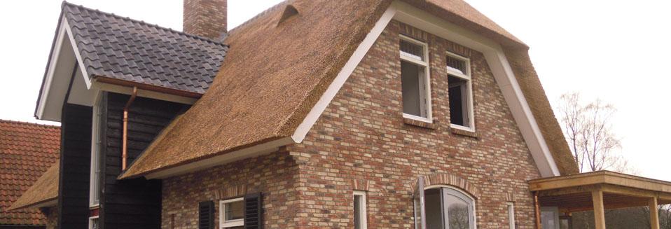 Nieuw rieten dak woning Ermelo